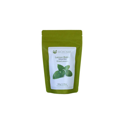 Lemon Balm (Melissae folium) Dried Leaves 50g 1.76oz | Biokoma.com