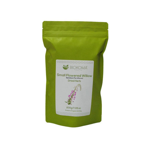Small-Flowered Willow (Epilobium parviflorum) Dried Herb 200g 7.05oz | Biokoma.com