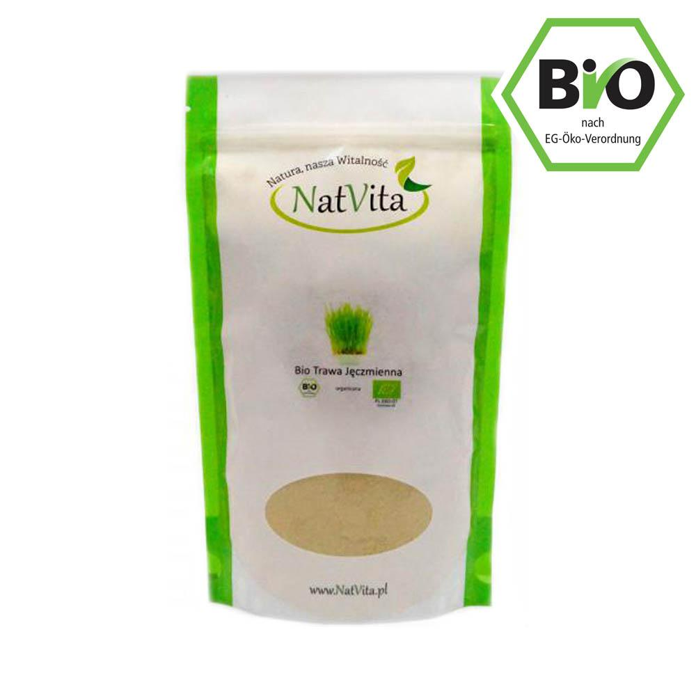 Bio Organique Hebrs - Young Barley Grass Powder 200mg