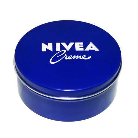 Cream - 2x Genuine Authentic German Nivea Cream Metal Tin 8.45fl Oz, 250ml