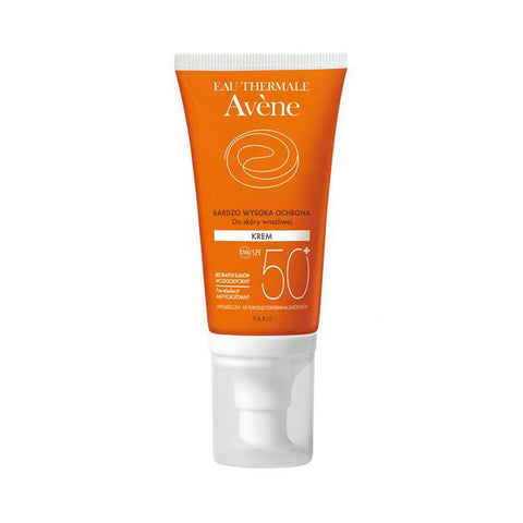 Cream - Avene Very High Protection Sunscreen Cream SPF 50+ 1.7fl Oz 50ml