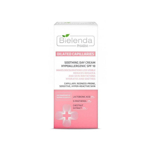 Cream - Bielenda Pharm Dilated Capillaries Soothing Day Cream 50ml