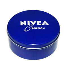 Cream - Genuine Authentic German Nivea Cream Metal Tin 13.54oz. / 400ml