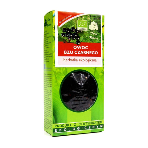 Elderberries (Sambuci fructus) Dried Fruits 100% BIO Organic 100g 3.55oz