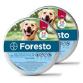 Bayer Seresto / Foresto Flea & Tick Collar for Large Dogs above 18 lbs (8kg) 7-8 Months Protection (2 pack)