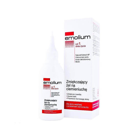Emolium Softening Gel For Cradle Cap 100ml 3.4fl Oz