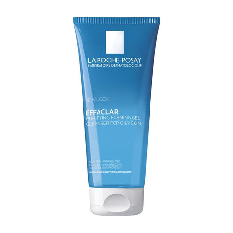 Gel - La Roche-Posay Effaclar Purifying Foaming Gel Oily, Acne-Prone And Sensitive Skin 200ml 6.76fl Oz