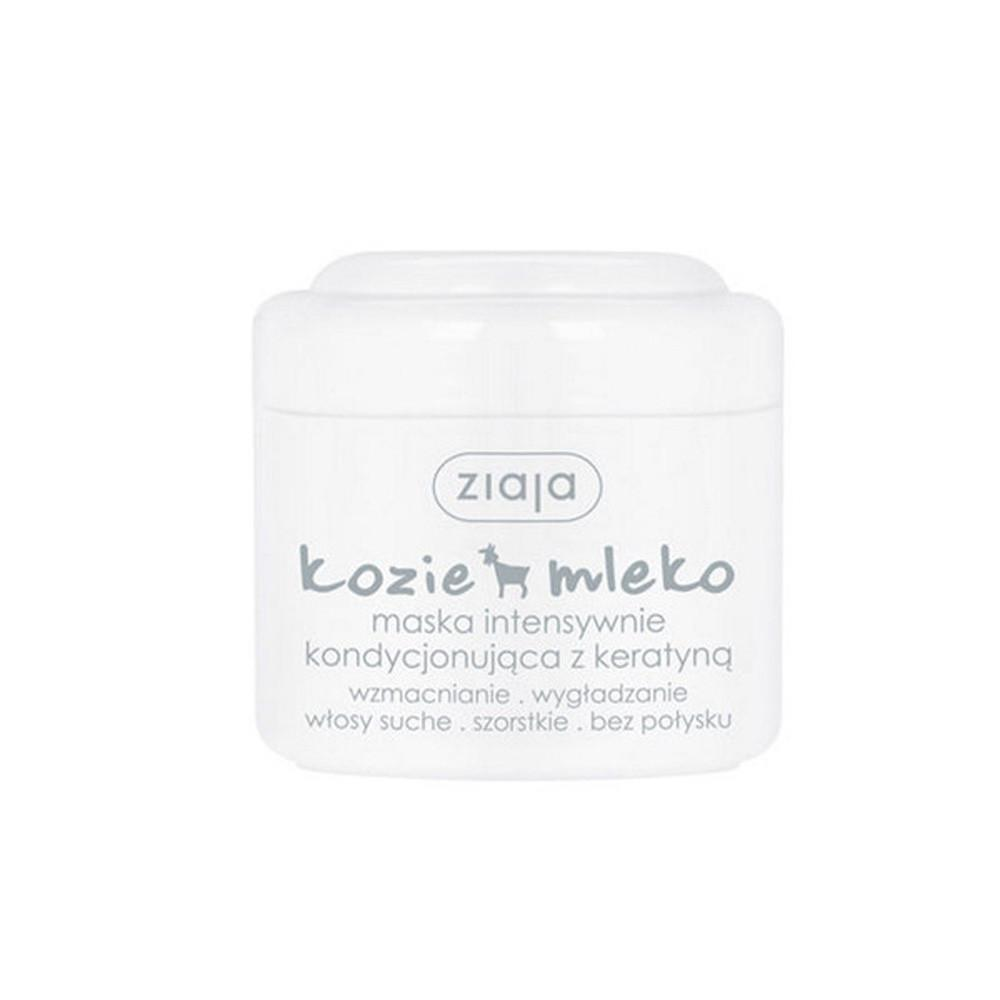 Mask - Ziaja Goat's Milk Intensive Hair Mask With Keratin 6.75fl Oz, 200ml