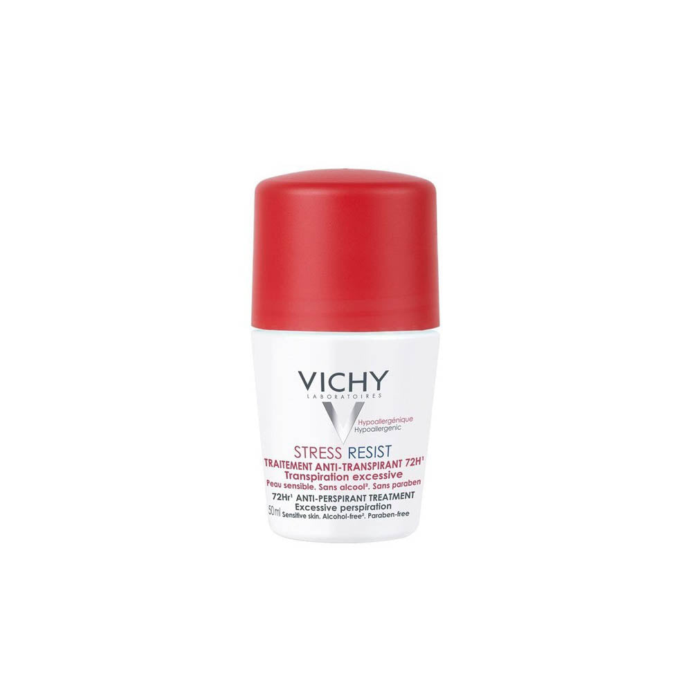 Vichy Deodorant Ant-Perspirant Treatment Stress Resist 72h Roll-on 50ml (2 pack)