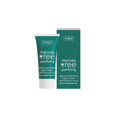 Ziaja Manuka Tree Exfoliating Night Cream 50ml 1.7fl oz