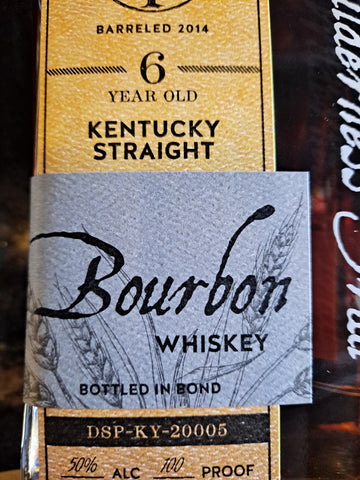 Wilderness Trail Bourbon 6yr. B- in - B