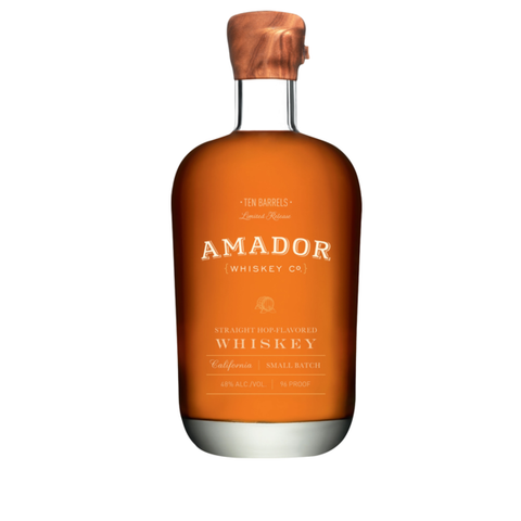 Amador Straight Hop-Flav. Whiskey 750ml