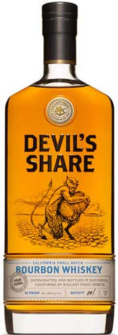 Cutwater Devil's Share Bourbon750ml