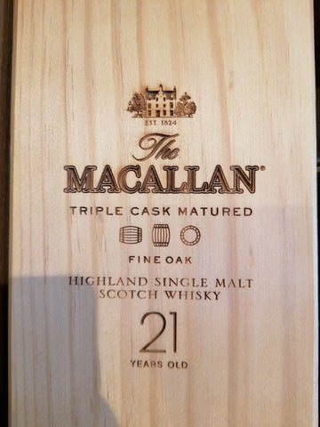 Macallan 21 years fine Oak