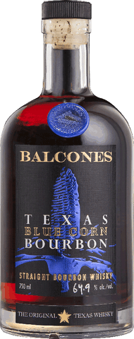 Balcones Blue Corn Brimstone 106 proof