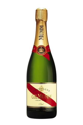 Image of G.H. Mumm Cordon Rouge Champagne by G.H. Mumm