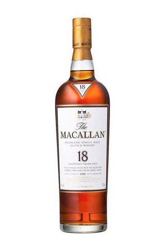 Image of The Macallan Sherry Oak 18 Years Old by The Macallan