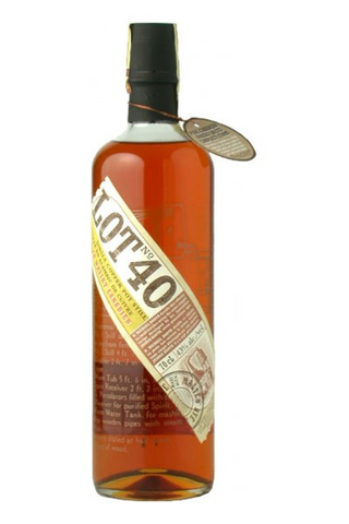 Image of Lot 40 Rye Cadian Whisky by Lot 40