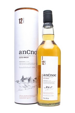 Image of Ancnoc 12 Year Single Malt Scotch by Ancnoc