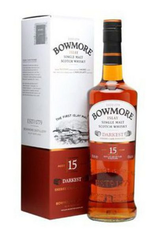 Image of Bowmore 15 Year 'Darkest' by Bowmore