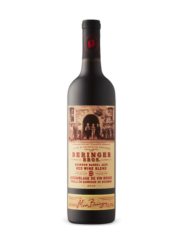 BERINGER BROS. RED BLEND BOURBON BARREL AGED