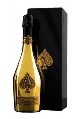 Armand De Brignac Ace of Spades Brut  gold bottle Champagne