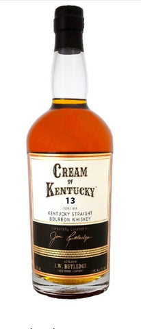 J.W. Rutledge Cream of Kentucky 13 Year Old Bourbon Whiskey Batch 4