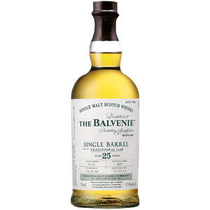 BALVENIE 25 YR SINGLE BARREL OLD TRADITIONAL OAK CASK