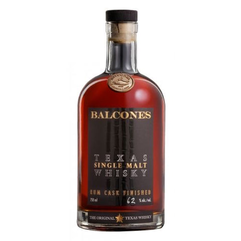 Balcones Rum Cask Single Malt Whisky 124 Proof