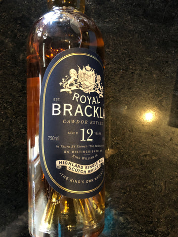 CAWDOR ESTATE ROYAL BRACKLA 12 YR 750ML