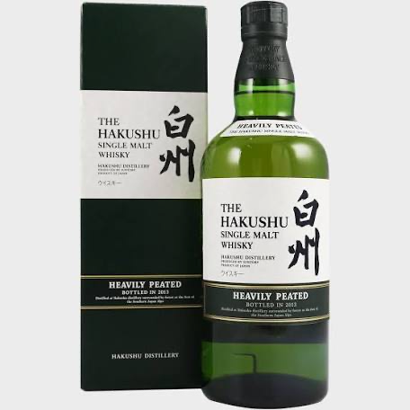The Hakushu heavily peated 2013