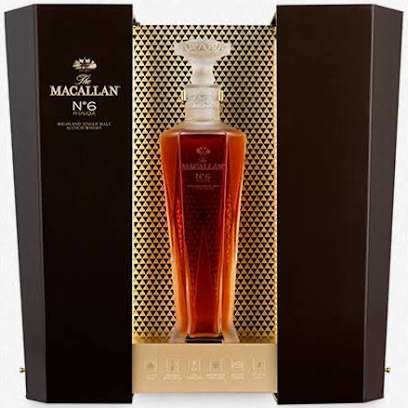 The Macallan Decanter Series 'No. 6 in Lalique' Single Malt Scotch Whisky, SPEYSIDE - HIGHLANDS, SCOTLAND