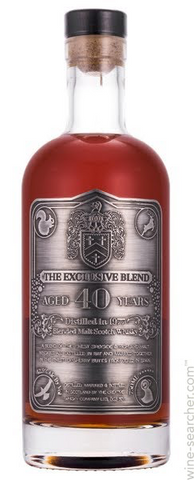 The Creative Whisky Co. 'The Exclusive Blend' 40 Year Old Blended Malt Scotch Whisky, SCOTLAND