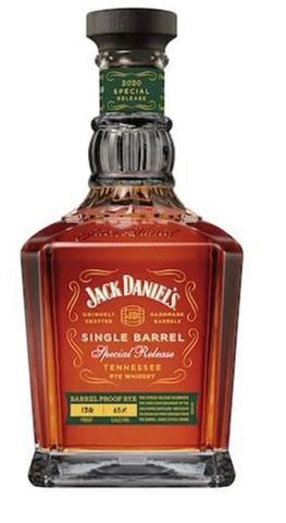 Jack Daniel's Single Barrel Special Release 2020 – Barrel Proof Rye