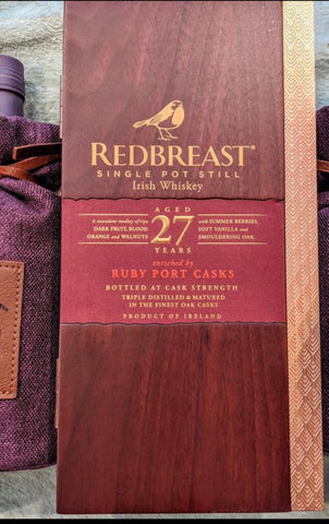 Redbreast 27 Year Cask Strength Edition 109.2 proof
