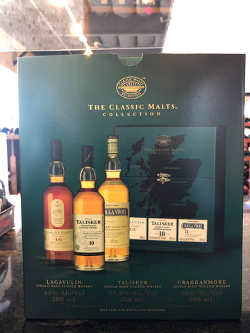 The Classic Malts Collection 3pak 200ml
