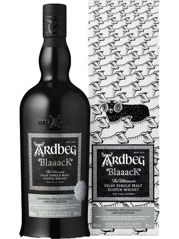 Ardbeg Blaaack Single Malt Scotch
