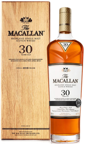 The Macallan Sherry Oak 30 Year Old Single Malt Scotch Whisky