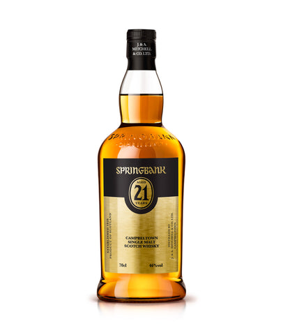 Springbank 21yr Single Malt Scotch