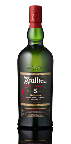 Ardbeg 'Wee Beastie' 5 Year Old Single Malt Scotch Whisky, ISLAY, SCOTLAND