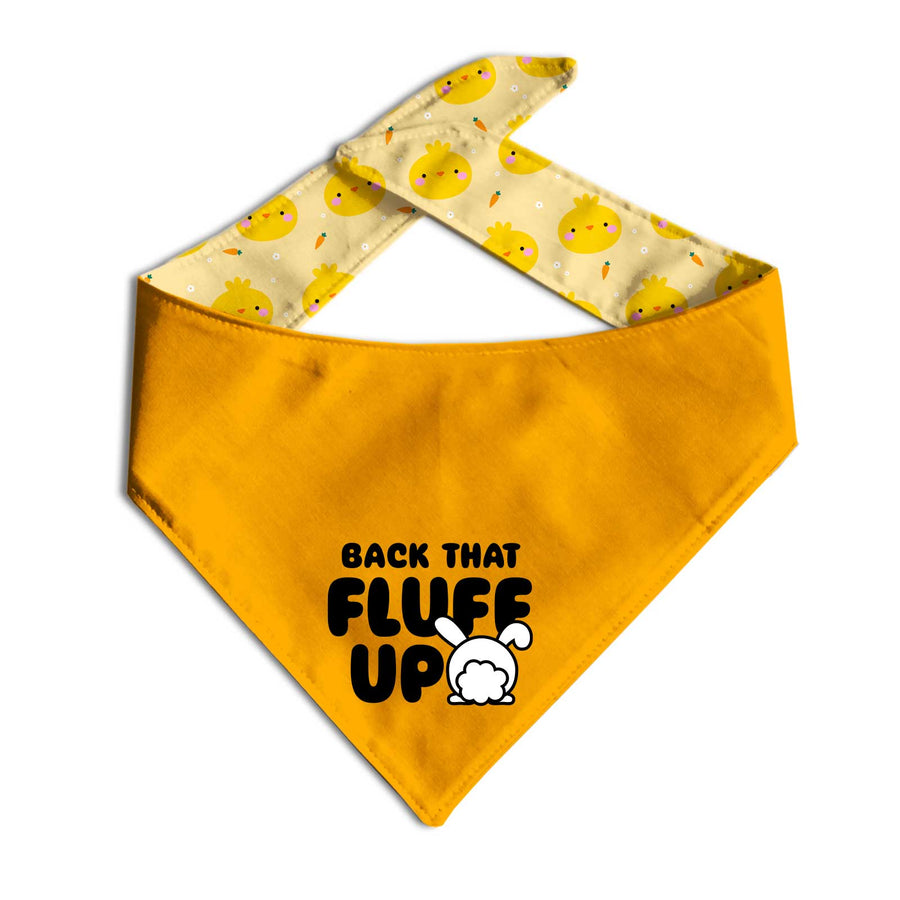 Back That Fluff Up Dog Bandana