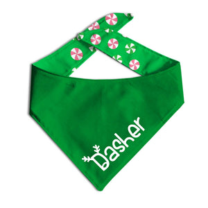 Elf Suit Dog Bandana-Made by Clive and Bacon