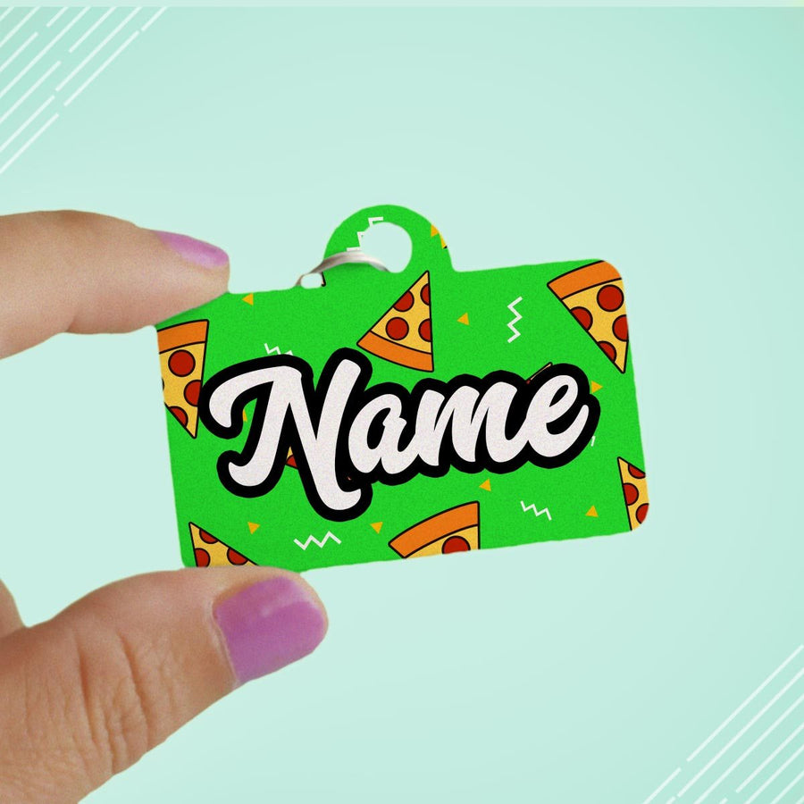 Pizza Time Pet ID Tag