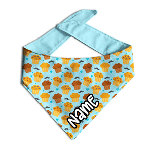 Stud Muffin Bacon Bibs® Custom Dog Bandana-Clive and Bacon