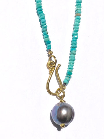 Faceted Turquoise Necklace - SOLD OUT