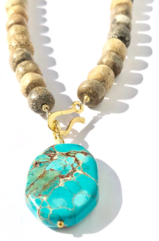 Sand & Sea Necklace - SOLD OUT