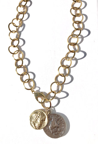 Coins in the Fountain Necklace