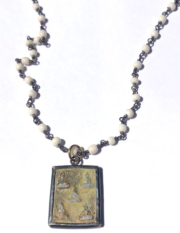 Five Buddhas Necklace