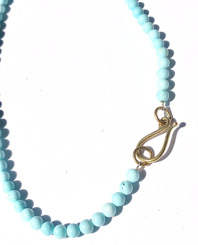 Simple Beauty Turquoise Necklace
