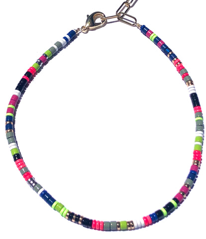Taste the Rainbow Enamel Necklace